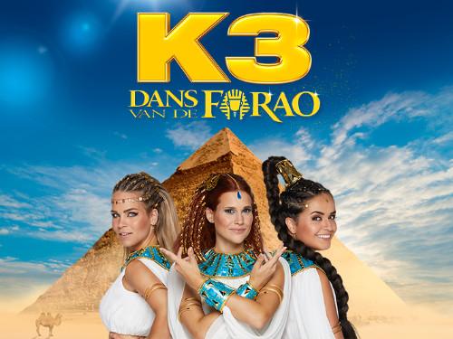 Familiefilm K3: De dans van de Farao: kinderen | MGTickets