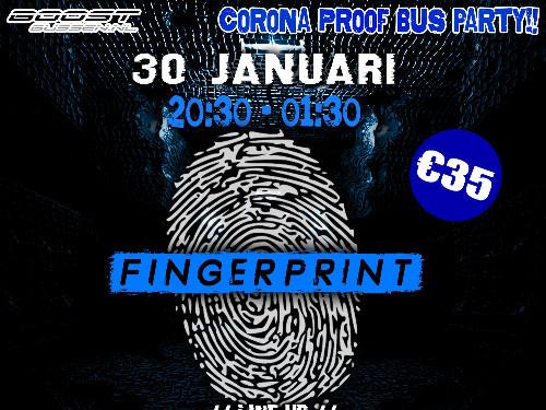Fingerprint On Tour / BoostBussen.nl  | MGTickets