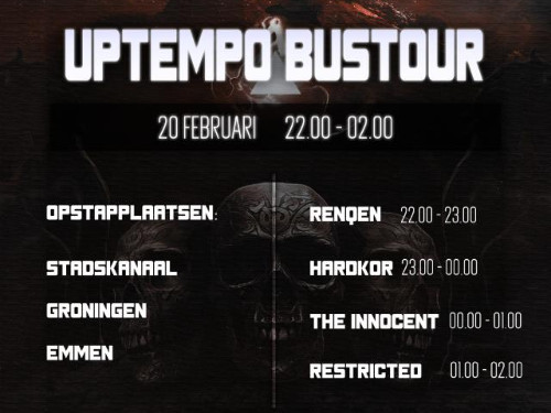 Klokkies Onderneming ft. Restricted Uptempo Tour by BoostBussen.nl | MGTickets