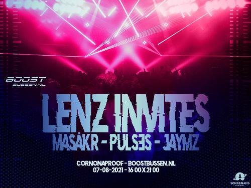 LENZ Invites x BoostBussen.nl (Techno x Hard Techno) | MGTickets