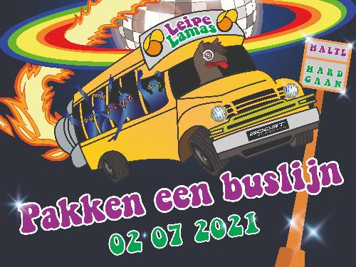 Leipe Lama's Pakken Een Buslijn