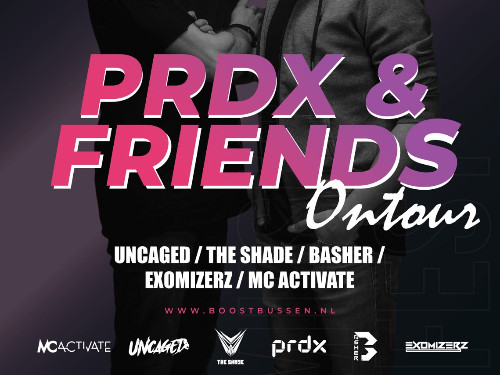 PRDX & Friends Hardstyle Tour door Friesland!  | MGTickets