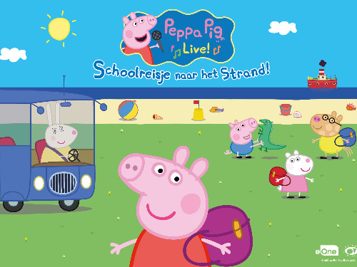 Peppa Pig Live! - Schoolreisje naar het Strand | MGTickets