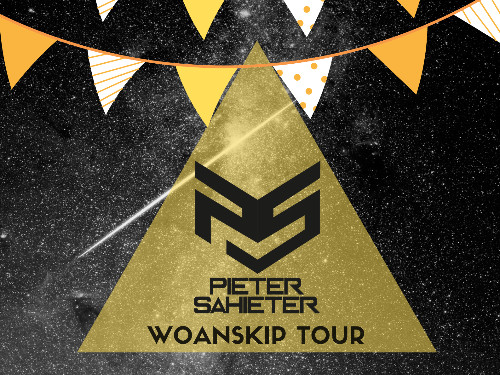 Pieter Sahieter x Woanskip Party Tour | MGTickets