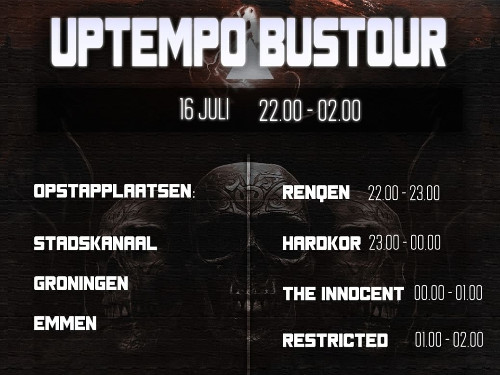 RESTRICTED UPTEMPO BUSTOUR HOSTED BY MC KLOKKIE x BoostBussen.nl | MGTickets