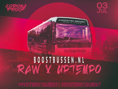 Raw/Uptempo Tour x BoostBussen.nl (Eindhoven)  | MGTickets