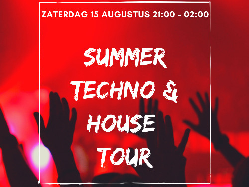 Summer House & Techno Tour door Friesland!  | MGTickets