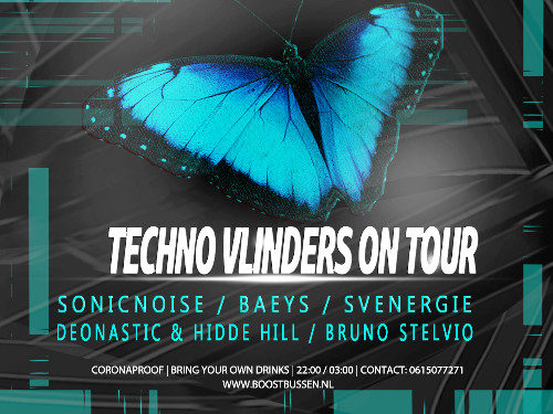 Techno Vlinders On Tour!  | MGTickets