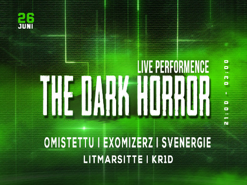 The Dark Horror x Uptempo Tour  | MGTickets
