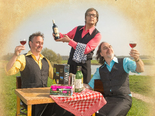 Wijncabaret - Aimabele schoften | MGTickets
