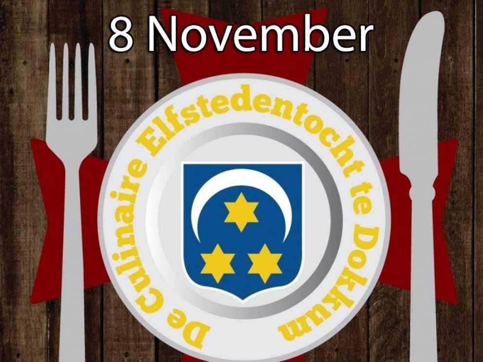 Culinaire 11-steden tocht Dokkum 8 November