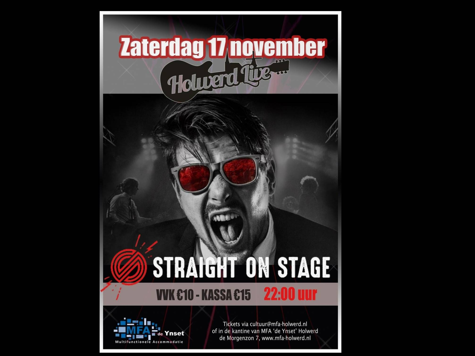 Holwerd Live met Straight on Stage