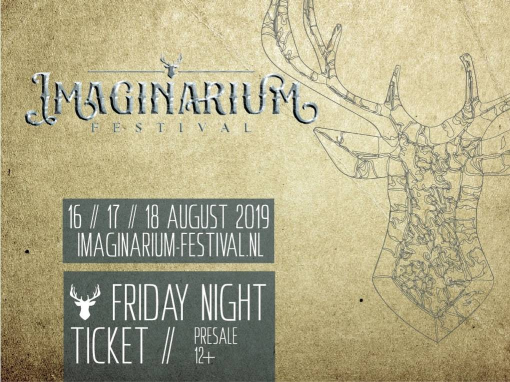 Imaginarium Festival 2019 vrijdag (Pre-Sale)