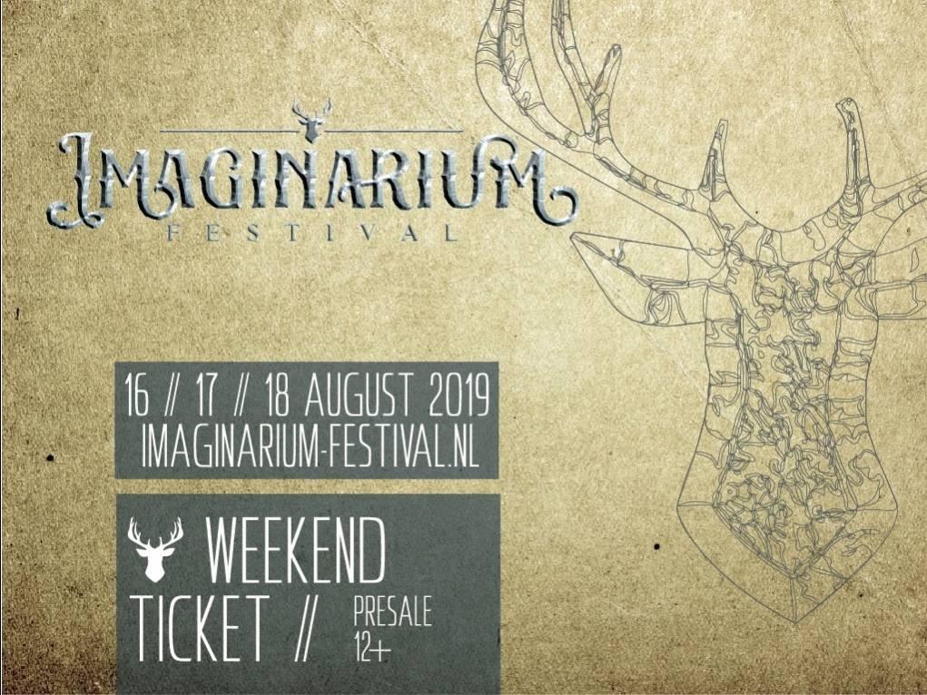 Imaginarium Festival 2019 weekend (Pre-Sale)