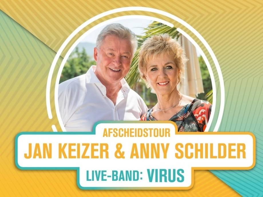 Jan Keizer en Anny Schilder, afscheidstournee & Virus