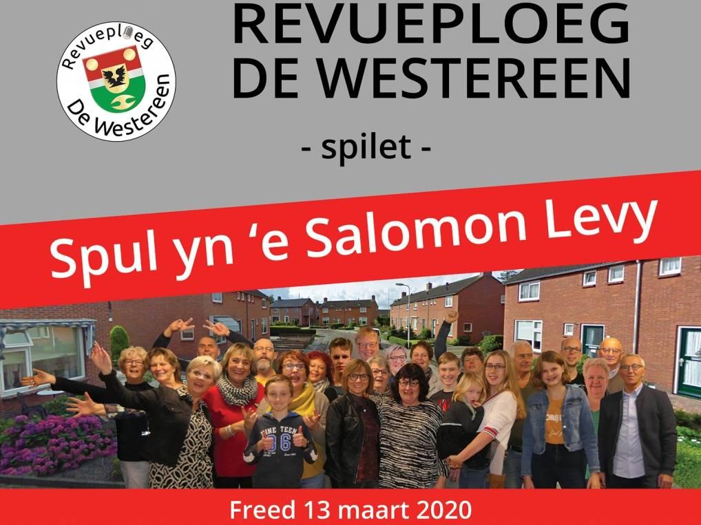 Spul yn e Salomon Levy - 13 maart 2020