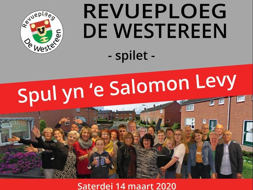 Spul yn e Salomon Levy - 14 maart 2020