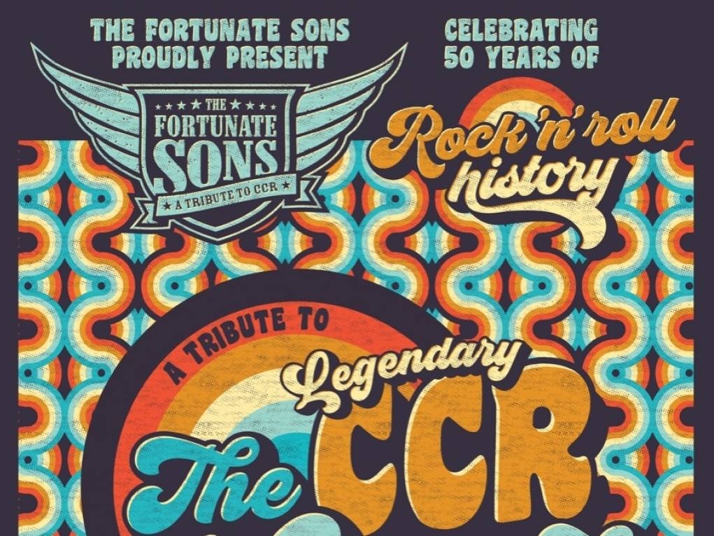 The fortunate sons CCR 50 jaar na Woodstock