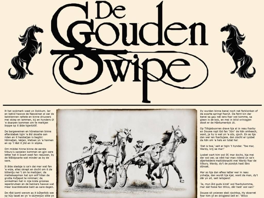 De Gouden Swipe zaterdag 2 maart 2019